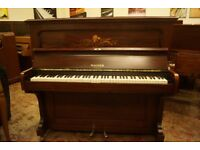 Stunning antique upright piano - Tuned and UK delivery available