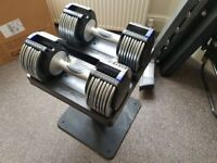 Epic Power Set 100 Adjustable Dumbbells With Stand