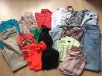 Ladies Summer Clothes Bundle sz10,s and 12,s