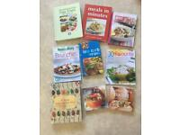 Bundle Of 9 cooking books