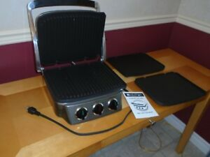 All in One Chef Grill/panini maker