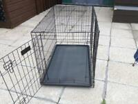 Large dog cage (SOLD)