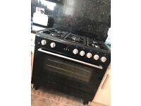 BUSH COMBINED GAS COOKER 90cm 6months old