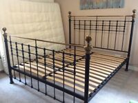 Super King size brass bed. Original Bedstead Company at a bargain price.