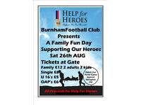 Help For Heroes Hosted by Burnham Football Club