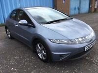 2007 Honda Civic CDTI ,mot -April 2018,only 74,000 miles ,2 owners,astra,focus,megane,yaris,corrolla