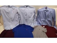 A selection of Quality Designer Shirts, Jumpers & T shirts - all in Perfect condition
