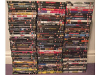 214 Film and TV DVD's bundle