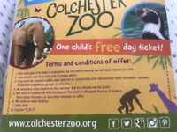 Colchester zoo voucher