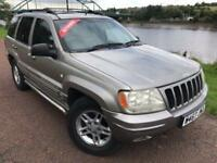 2000 W JEEP GRAND CHEROKEE 4.7 LIMITED 5D AUTO 217 BHP