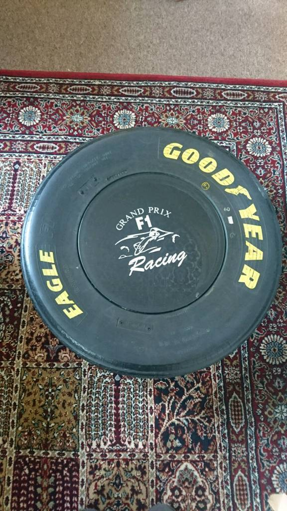 f1 tyre coffee table | in frome, somerset | gumtree