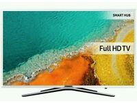 "White Samsung 49"" LED smart wifi tv built USB MEDIA PLAYER HD FREEVIEW full hd 1080p"