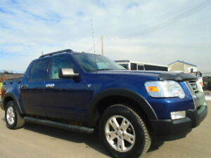 2007 FORD EXPLORER SPORT TRAC XLT- 4X4--ONE OWNER--ACCIDENT FREE