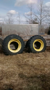 Two Goodyear Ultra Torque Radial Tires