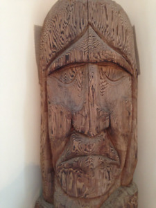 Early 1950's Totem Pole from BC