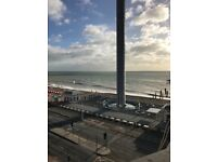 Very large double room available in central Brighton,perfect view of the SEA