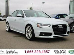 2015 Audi A4 2.0T Technik quattro AWD S-Line - Local One Owner