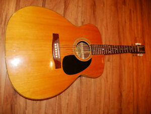 "Vintage ""Valdez"" Guitar ""Made in Finland"" new strings + cover"