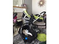 Silver cross surf pushchair & car seat & more bargain