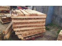 Cedar 35m x35mm x 4ft pointed stakes - -for signs