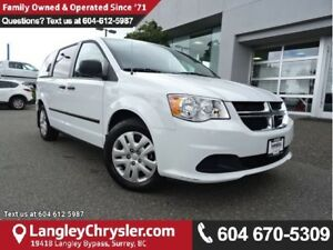 2016 Dodge Grand Caravan SE/SXT ACCIDENT FREE W/DUAL ZONE CLI...