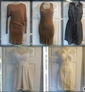 5 Robes Small Medium (BCBG, Atiste, Tommy Hilfiger, Lulus)