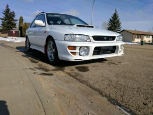 1999 Subaru impreza wrx wagon (gf8)(Rhd)