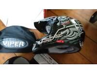 Child's viper helmet brand new