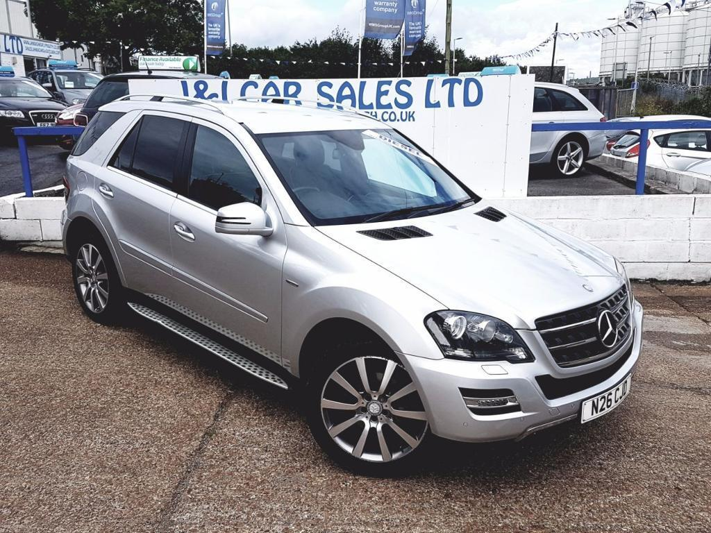 MERCEDES-BENZ M CLASS 3.0 ML350 CDI BLUEEFFICIENCY GRAND EDITION 5d AUTO (silver) 2011
