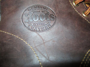 Roots Leather Boots.   Made in Canada.   Women's Size 8.5.