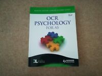 OCR Psychology AS Revision book - excellent condition