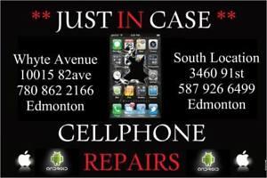 SCREEN REPAIR IPHONE 5$60, 6 $79, 6+ $99, 6s $119, 7 $149 7+$179