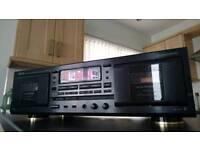 Denon cassette deck DRW-580