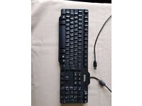 Dell keyboard with USB connector