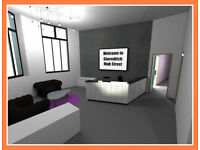 Serviced Offices in * Shoreditch-E1 * Office Space To Rent
