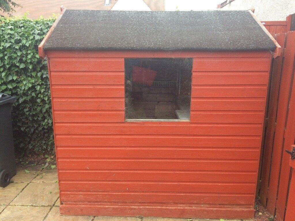 garden shed for sale buyer to uplift in trinity edinburgh