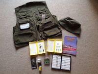 Snowbee Flyfishing vest, new with tags. Small: PLUS extras
