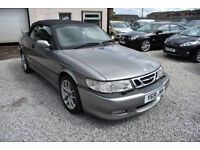 Saab 9-3 2.0HOT AERO CABRIOLET 2002 +CLASSIC MODEL + INVESTMENT MARQUE
