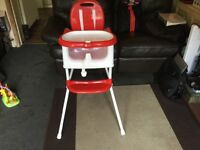 My child high chair as new never been used