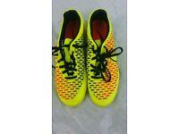 Nike tricolour football boots