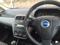 Fiat grande punto 1.4 petrol 2006 plate