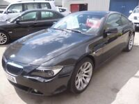 BMW 630i M Sport Auto,2996 cc Coupe,FSH,full leather interior,runs and drives well,all the extras