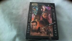 Star wars episode 1 playing cards new in box