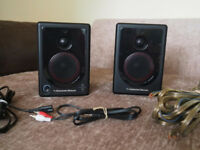 Cerwin-Vega! XD3 powered desktop speakers