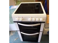 LOGIK White freestanding electric cooker