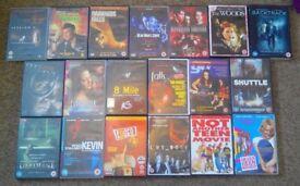 DVDs - Backtrack, Loser, Session 9, Go, Cherry Falls, 8 Mile, Darkness Falls, Pump Up The Volume