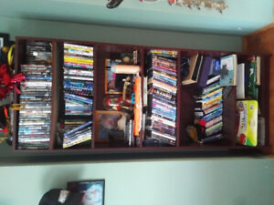 Cherry color book shelf for sale