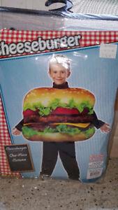 Rasta Imposta Children's Cheeseburger Costume 1 Piece