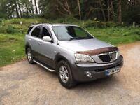 2005 kia sorento 2.5 crdi diesel ( new mot )