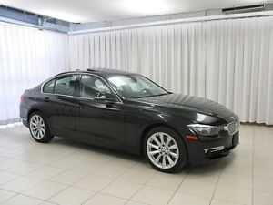 2014 BMW 3 Series 320i x-DRIVE AWD TURBO w/ MOONROOF, HEATED LEA